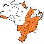 0 - Estados do Brasil atualmente ja atendidos por  Alecio Costa Mastering
