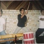 16 - Grupo Taikô, Abril 2006 na produção do CD do Ator Daniel Lobo da Rede Globo