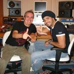 2 - Alécio Costa & Latino, na masterização do novo Hit Amigo Fura Olho
