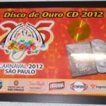 4 - Disco de Ouro 2012