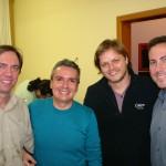 9 - Maestro Jefferson Della Rocca, Alécio, Produtor Edú Menezes e Compositor Erudito Alberto Heller
