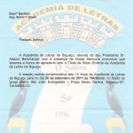 9A - Homenagem da Academia de Letras em Setembro 2011