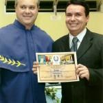 9B - Diploma de Sócio Emérito na Academia de Letras SC Biguaçu